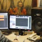 Анна Ланцберг, запись CD на студии звукозаписи, г. Екатеринбург