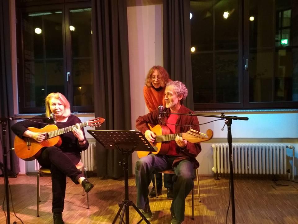 Роберт Кур и Анна Ланцберг в Дюссельдорфе, 19.10.2017